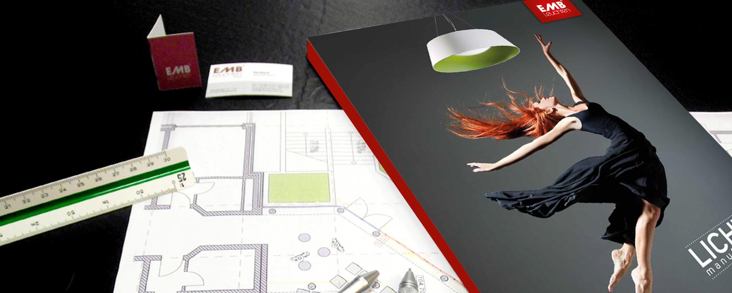 katalog lichtmanufactur x erschienen emb leuchten. Black Bedroom Furniture Sets. Home Design Ideas